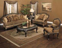 Wonderful Traditional Sofa for Your House: Stunning Fabric Traditional Sofa Design Ideas Vintage Living Room ~ flohomedesign.com Sofa Inspiration