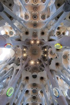 Antonio Gaudi's Sagrada Familia Church #Barcelona
