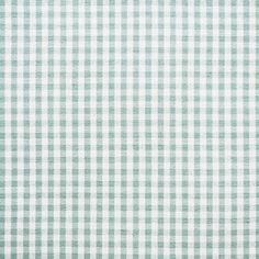 Duck Egg Blue/ Ivory Gingham Fabric - 249
