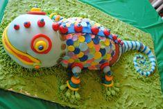 Alligator Snake Lizard Cakes cakepins.com