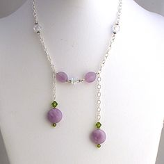 """Downton Abbey admirers will adore this! It's called a """"negligee necklace."""""""