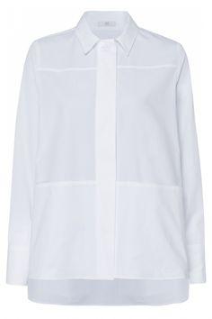 Riani Damen Bluse Weiss   SAILERstyle Blazer, Chef Jackets, Shirt Dress, Mens Tops, Shirts, Dresses, Fashion, Shirt Collars, Fashion Women