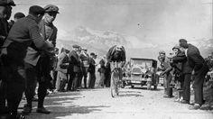 Tour de France 1928. 14^Tappa, 6 luglio. Grenoble > Evian. Col du Galibier. Nicolas Frantz (1899-1985)