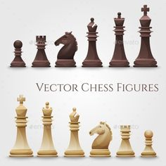 Buy Vector Chess Figures by Dashikka on GraphicRiver. Vector Chess Figures, black and white. Beginner Art, Beginner Painting, Pop Art Movement, Kings Game, Game Background, Horse Sculpture, Chess Pieces, Easy Paintings, Home Decor Furniture
