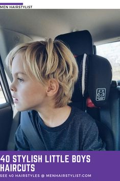 Want to know what little boys haircuts are in this season? Here are 40 little boys haircuts recommendations coming from men hairstylists! Shaggy Haircuts For Boys, Boys Haircuts Medium, Toddler Boy Haircuts, Little Boy Haircuts, Cute Hairstyles For Kids, Boy Hairstyles, Boy Shaggy Haircut, Toddler Boy Long Hair, Medium Hair Cuts