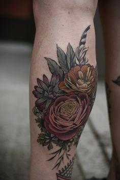 Beautiful tattoos made in Portland, Oregon!