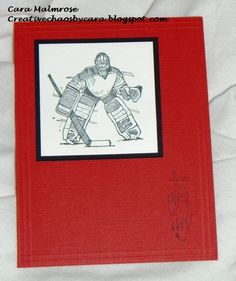 Hockey anyone? by Cara Denise - Cards and Paper Crafts at Splitcoaststampers