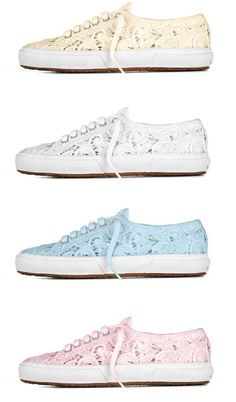 lace sneakers <3