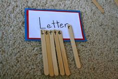 Post office theme - Journey To Josie: kindergarte...letter match to build sight words