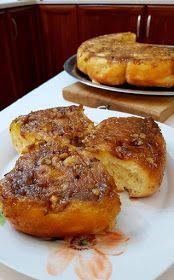 ΜΑΓΕΙΡΙΚΗ ΚΑΙ ΣΥΝΤΑΓΕΣ 2: Τα πιο αφράτα ρολά με μήλα και καρύδια !!! Sweet Buns, Sweet Pie, Sweet Bread, How To Make Cake, Food To Make, Low Calorie Cake, Pecan Rolls, Oreo Pops, Food Decoration