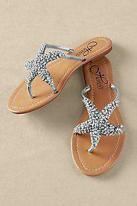 Womens Starfish Sandals