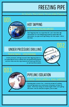Freezing Pipe - An Industry That Literally Thrives Under Pressure.
