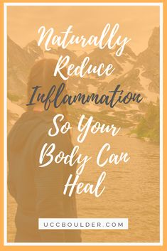 Reduce Inflammation For Natural Healing In The Body - More people are looking for how to naturally reduce inflammation so they can let their body heal fr - Chronic Pain, Chronic Illness, Autoimmune Disease, Lyme Disease, Boost Immune System, Anxiety Treatment, Anti Inflammatory Recipes, Healthy Lifestyle Tips, Natural Health Remedies