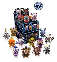 Funko Cinq Nights at Freddy/'s Twisted Ones Mystery Minis Boîte de 12 GS Exclusive