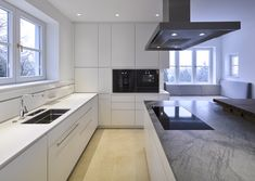Haus 1180   Mayr & Glatzl Innenarchitektur GmbH #innenarchitektur #küche #design #details Villa, Kitchen Cabinets, Table, Furniture, Design, Home Decor, Interior Design Kitchen, Attic Rooms, Haus