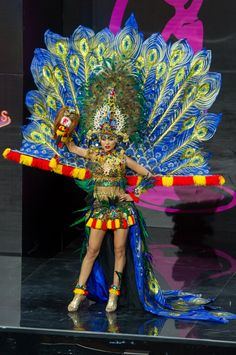 Indonesia National Costume for Miss Universe 2013 -
