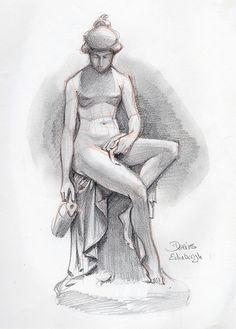 Young Girl Edinburgh by Patrick Dea Types Of Art, Type Art, Cupid, Edinburgh, Fine Art America, Sketches, Wall Art, Drawings, Illustration
