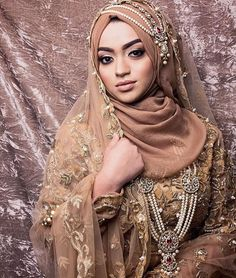 New Bridal Hijab Designs For Your Wedding Day-Muslim Tour Travel Muslimah Wedding Dress, Pakistani Wedding Dresses, Modest Wedding Dresses, Bridal Dresses, Hijabi Wedding, Wedding Outfits, Maxi Dresses, Bridal Hijab Styles, Muslim Brides