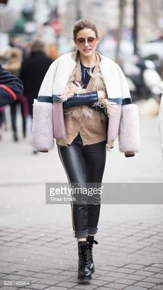 Olivia Palermo seen after the Altuzarra Fashion show during the Paris Fashion Week Womenswear Fall/Winter 2018/2019 on March 3 2018 in Paris France