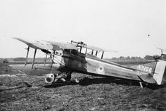 BRITISH AIRCRAFT FIRST WORLD WAR (Q 67901)   SPAD S.VII single seat fighter biplane at Orford Ness. Serial number A9100.