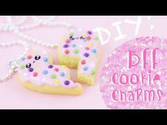 Kawaii Sugar Cookie Friend Charms Clay Tutorial