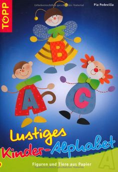 Lustiges Kinder-Alphabet: Crafts To Do, Crafts For Kids, Paper Crafts, Diy Quiet Books, Back To School Crafts, Painted Books, Alphabet Activities, Autumn Art, Paper Cutting