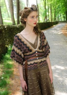 Luyu by Louisa Harding. From the new Amitola pattern book