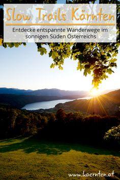 Ihr wollt einen besondern Reisetipp? Die Slow Trails in Kärnten lassen euch entlang schönster Orte und Geheimtipps in Kärnten wandern. So könnt ihr bei euren Urlaub in Österreich die Natur noch besser genießen. #slowtrail #urlaubinkärnten #wandern #wandertour #urlaubinösterreich #kärnten #wanderurlaub #natur Flora Und Fauna, Trail, Hiking Trails