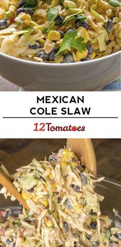 Mexican Corn Coleslaw