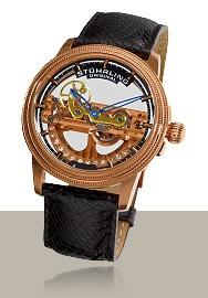 Stuhrling Original Men's Classic Limited Edition Saturnalia Bridge Automatic Skeleton Rosetone Watch - Find Me The Cheapest Mens Watches For Sale, Cheap Watches, Luxury Watches For Men, Men's Watches, Skeleton Watches, Watch Brands, Breitling, Discount Designer, Luxury Branding