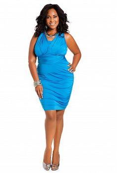 b21d7201285 Amazon.com  Ashley Stewart Women s Plus Size Web Exclusive 10 Way Shirred  Dress