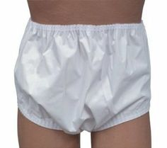 """Incontinent Pant with Stitched Sides - Pull On Style - Medium - 30"""" to 36"""" Waist - Each by Mabis. $15.99. personal-care. Personal Care. Mabis DMI Medium Incontinent Pants - Pull On Style Features: Helps protect clothes and bed linens from leakage.Designed to be used with pads; diapers; reusables; and other absorbent materials.Elastic waist and leg bands provide comfort and added protection.Designed for men; women; and children.Made of 100% plasticized polyester fabric.Ma..."""