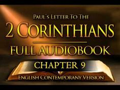 Holy Bible Audio: Paul´s 2nd Letter to the Corinthians 1 to 16 - Full (Contemporary English) - YouTube