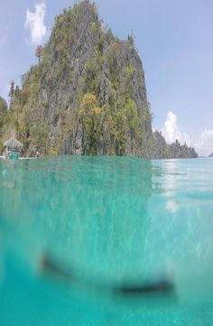 Green Lagoon Coron, is located minutes far from the port of Coron Island, north Palawan. How to get to the Green Lagoon Coron Coron, Palawan, Philippines, Water, Green, Pictures, Outdoor, Gripe Water, Photos