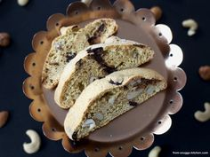 weihnachts cantuccini / xmas style biscotti