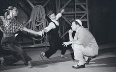 Gene Kelly, Carol Haney, and Jeanne Coyne