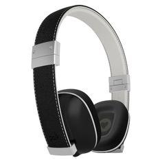 Polk Audio Hinge Compact On-Ear Headphones - Black #polkaudio #headphones #hinge #indie #style #music