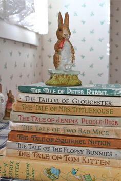 Peter Rabbit Collection~my kids loved these books.....and so did I! <3