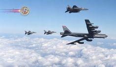 EUA e Coreia do Sul realizam exercícios aéreos conjuntos