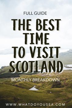 Do you want the most bang for your buck on your trip to Scotland? Do you want moody weather? In this month-to-month weather breakdown, it… Europe Destinations, Europe Travel Guide, Travel Guides, Budget Travel, Scotland Road Trip, Scotland Vacation, Travel To Scotland, Visiting Scotland, Month Weather
