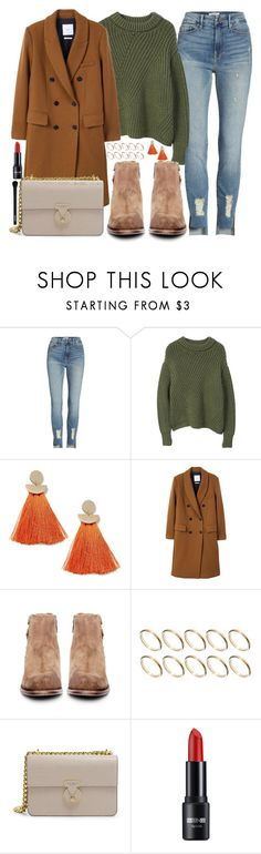 """Happy hour"" by carolsposito ❤ liked on Polyvore featuring Good American, MANGO, Miss Selfridge, H by Hudson, ASOS, Henri Bendel and NYX"