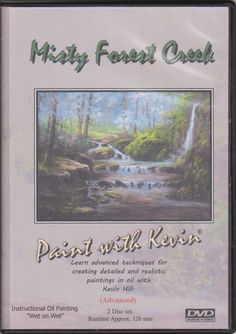 NEW! Misty Forest Creek Premium 2 Disc DVD set! In this 2-part oil painting lesson, you will learn many valuable tips and techniques for creating this forest landscape. You will learn how to balance elements in a painting using warm and cool colors, as well as creating depth by adding details that help draw the eye into the painting. Using the techniques you learn in this painting video, you can greatly enhance your art work! For more information about this DVD, please visit…