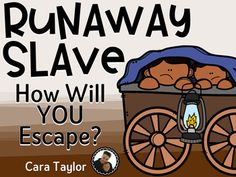 This Black History resource is related to the Underground Railroad.  It is a simulation activity your students can participate in, pretending they are themselves a runaway slave.  There are 6 word wall cards with terms they should be familiar with before doing the activity.