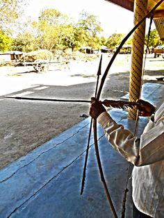 Weapon used by Rathwa tribe [Adivasi caste ] in Kawant in eastern Gujarat. :)