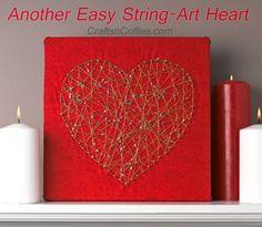 Easy -- no pouding & smashed fingers! Pretty, too. CraftsnCoffee.com.