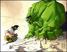 LOGAN vs HULK Comics Your #1 Source for Video Games, Consoles & Accessories! Multicitygames.com