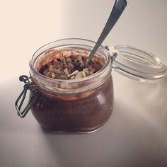 Gomorron. Chokladpudding till frukost idag.  #paleo #paleofrukost by fruelin