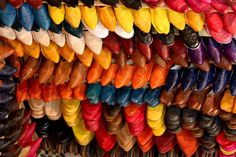 Traditional Leather Moroccan Slippers