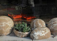 #felt multifunctional object. Merinos wool, ramie tops and silk cocoons. Photo Judith Byberg