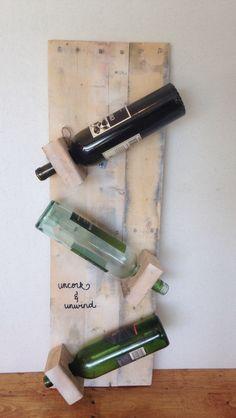Rustic wine rack, reclaimed wood wine rack, wine storage, kitchen storage, white wash, wine gift, unique wine rack, wall mount wine rack by CharmingCustomDesign on Etsy https://www.etsy.com/listing/462165430/rustic-wine-rack-reclaimed-wood-wine